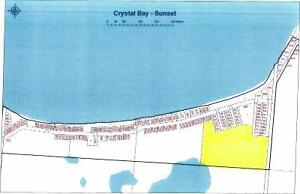 22 Acres to Develop @ Crystal Bay Bright sand lake!