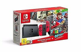 Nintendo Switch console Mario limited edition brand new