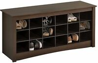 """48"""" Wide New Entryway Shoes Storage Organizer Shelves/ Bench"""