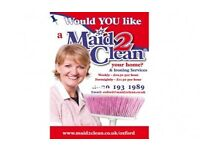 LOUGHBOROUGH - Do You Need a Maid2Clean Your Home - Free Up Your Time for What Really Matters To You