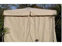 Gazebo Cover 3m x 3m (cream)