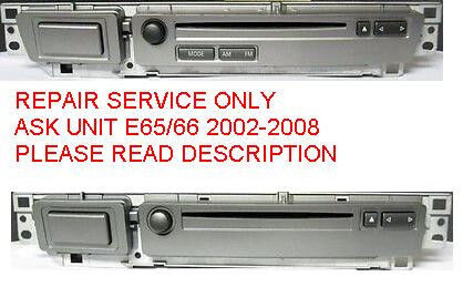 Bmw Oem E65 E66 750 760 02-08 Ask Unit Cd Player Repair Service