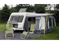Omega Compass 524/4 Touring Caravan Immaculate Condition Full Awning with All Accessories included