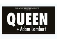 Queen plus Adam Lambert