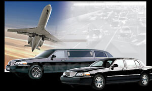 We provide Limousine services for Wedding, To and From Airport,