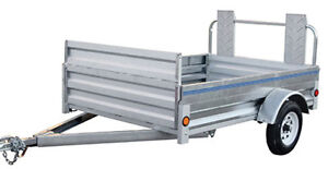 5' x 8.5' Utility Trailer for Rent