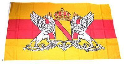 Flagge / Fahne Großherzogtum Baden Wappen Hissflagge 90 x 150 cm