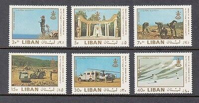Lebanon   Liban Mnh Sc  C599 C604 25 Anniversary Of Independence