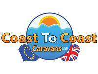 Cheap static caravan, DG, CH, Freestanding furniture - £5450