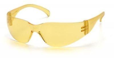 Pyramex Intruder Safety Glasses With Amber Lens Ansi Z87