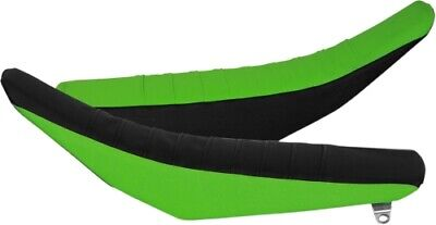 FLU Designs Team Issue Pleated Grip Seat Cover - 25304 Black/Green Grip Team Green