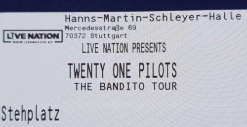 Tickets Twenty One Pilots Stuttgart 24.02.19 Stehplatz Innenraum Eintrittskarten