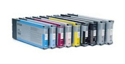 220-ml-pigment Tinte (8 x Tinte Cartridge für Epson Stylus Pro 9800 7800 je 220ml PIGMENT INK)