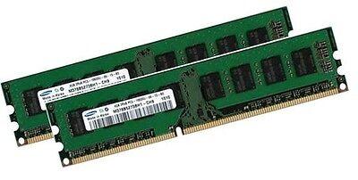 2x 4GB 8GB RAM PC Desktop Speicher DIMM DDR3 1333 Mhz 1066 Mhz PC3-10600U