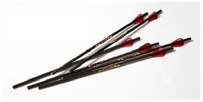 """Excalibur Crossbow 22DV18-6 Non-Illuminated Diablo 18"""" Carbon Arrows (6 Pack)"""