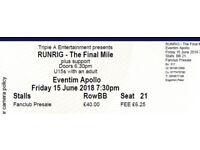 Runrig - The Final Mile tickets
