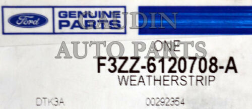 FORD OEM Door-Weatherstrip Seal F3ZZ6120708A