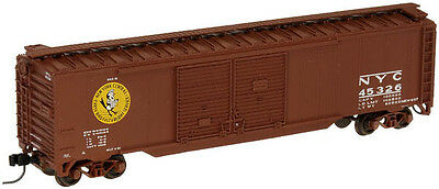 New York Central Early Bird NYC 50' Dbl Dr Boxcar Atlas#36445 Rd #45326 N-Scale
