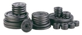 WANTED: Metal weights, Barbell, Dumbbell.