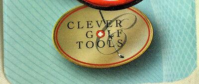 2 Initial Letter ( V ) Mens  Golf Ball Marker. + 1 Magnetic Hat Clip. Bulk Golf Ball Markers