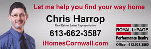 Thinking of buying or selling real estate in Cornwall and Area?