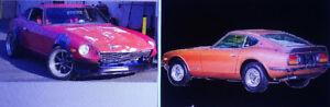 Je veux m'acheter une Datsun 240-Z (260 ou 280) de 1970 à 1978