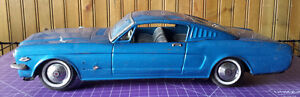 Vintage Ford Mustang 1965 tin toy car Made in Japan TN Nomura