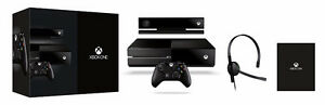 Xbox One Day One Edition/Kinect + 3 Controllers and 3 Games