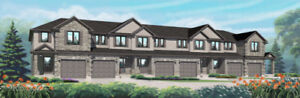 Luxury FREEHOLD Townhomes in Paris, On, from the high $300's