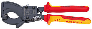 Knipex-95-36-250-VDE-Insulated-Ratchet-Cable-Cutters-250mm-57677-NH