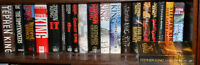 20 Hard Cover Stephen King Books Excellent Condition