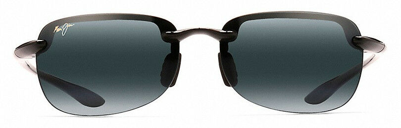 b884cbd67d5 Maui Jim Sandy Beach 408 O2 Unisex Black 56mm Polarized Sunglasses ...