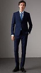 Royal Blue Burberry suit. Worn once