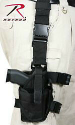 TACTICAL DELUXE PISTOL ADJUSTABLE DROP LEG HOLSTER