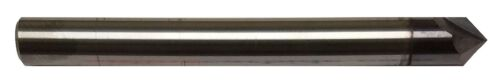 """1/2"""" 2 FLUTE 90 DEGREE CARBIDE CHAMFER MILL - TiALN COATED"""