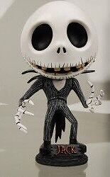 Jack Skellington Head Knocker (bobblehead)