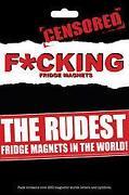 Rude Fridge Magnets