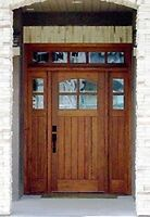 Gorgeous solid Brazilian and Peruvian exotic exterior doors