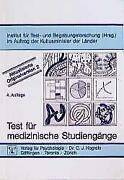 Test Für Medizinische Studiengänge
