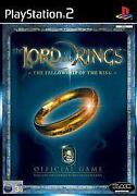 Lord of The Rings The Fellowship of The Ring PS2