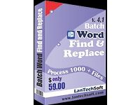 Try best Word find and replace software