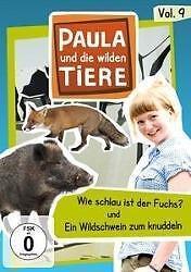 Paula und die wilden Tiere 9: Wie schlau ist ein Fuchs-Ein Wildschwein..NEU (135