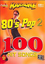 Chartbuster 80s Pop Vol 2 Karaoke 5 Disc Set CDG ESP 475 Pack 83 Song Set