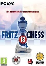 FRITZ 13 Chess PC-DVD game for PC, in case - excellent