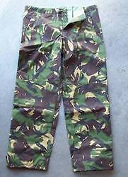 NEW-Army-Issue-Zip-Leg-Camo-Goretex-Waterproof-Trousers-85-112-128-45-Waist