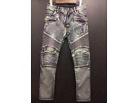 Balmain jeans grey double