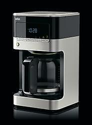 Braun 12 Cup-Digital Coffee Stainless/Black Maker KF7150BK