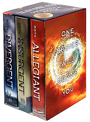 The divergent 3 book collection