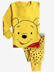 New-Baby Gap- Winnie The Pooh Long 2 PC Pajama Set. Size 7