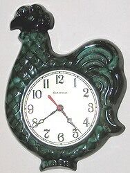 Blue mountain pottery Clock WANTED